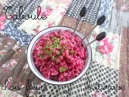 comment cuisiner la betterave crue taboulé tout cru de chou fleur et betterave la cuisine de quat sous
