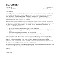 Example Pharmacist Resume by Cover Letter For Pharmacist Resume Free Resume Example And