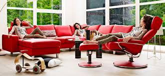 stressless canapé canapé d angle lit contemporain en cuir e200 ekornes