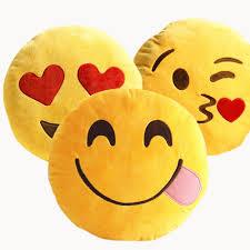 Home Decor Icon Aliexpress Com Buy Emoji Decorative Throw Pillow Stuffed Smiley