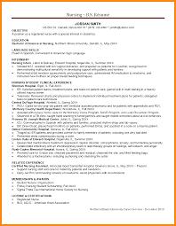Sample Student Nurse Resume by Or Nurse Resume Samples