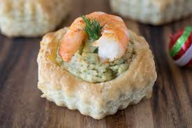 Easy Appetizers by Shrimp U0026 Avocado Puff Pastry Shells Real Housemoms