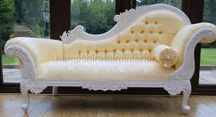 antique chaise lounge sofa white ornate medium french style gold chaise longue free delivery