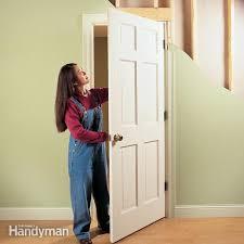 interior home doors how to repair interior doors family handyman