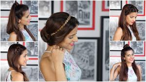 5 everyday easy heatless hairstyles indian hairstyles for medium