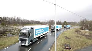 volvo trucks europe self driving truck convoy completes european road trip