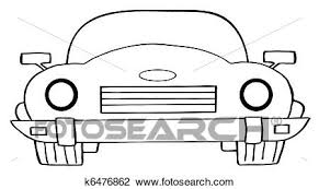 cartoon convertible car clipart of cartoon convertible car k6476862 search clip art