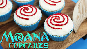moana cupcakes nerdy nummies youtube