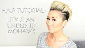 what is the name of miley cyrus haircut hair tutorial style an undercut faux hawk rihanna miley cyrus