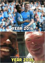 Sterling Memes - sterling and kdb in 20 years soccer memes goal91