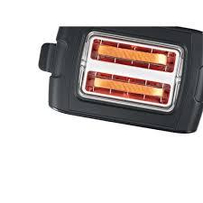 bosch toaster black tat 6a113 smartech ee