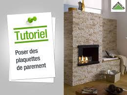 Plaquette Parement Salle De Bain by Comment Poser Des Plaquettes De Parement Leroy Merlin Youtube
