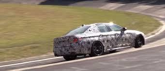 prototype drive 2018 bmw m5 2018 bmw m5 prototype reveals three taillight brake patterns at