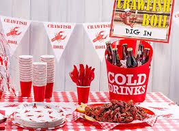 cajun party supplies cajun crawfish boil ideas mardi gras party ideas party
