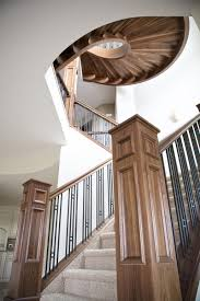 stair beauteous ideas for home interior using curved staircase