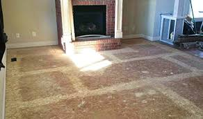 my steps for successful prep a wood subfloor wood floor