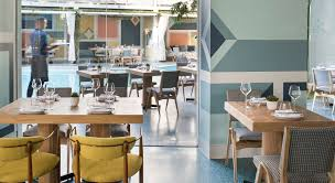 mid century restaurant design by the celebrated kelly wearstler