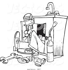 plumbing repairs coloring pages free printable coloring pages