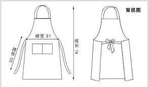 blouse de cuisine tablier de cuisine restaurant blouse apron avec poche tablier