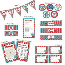 thing 1 thing 2 baby shower ready to go package printable 5 90