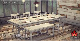 Shaker Style Dining Table And Chairs Laney Dining Room Set At Fameshed August Trompe Loeil