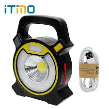 battery powered emergency lights itimo cob led tent light emergency l portable lantern floodlight