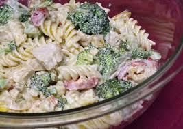 recipes for pasta salad quick and easy garden chicken pasta salad recipe genius kitchen