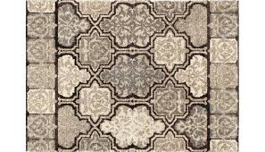 Home Design 7 X 10 Modern Tile 7 X 10 Rug Home Zone Furniture Rugs