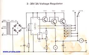 voltage regulator ic 723 wiring diagram components