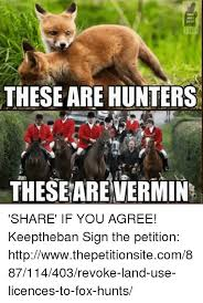 Meme Hunters - these are hunters these are vermin share if you agree keeptheban