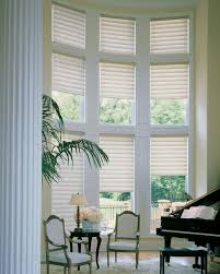beautiful two story window treatments