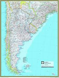 south america map atlas southern south america atlas wall map maps
