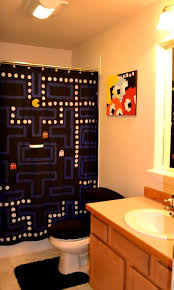 Buy Cheap Curtains Online Canada Bathroom Personable Funny Shower Curtains Old And Pac Man