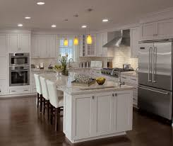 attractive white beadboard kitchen cabinets and white beadboard