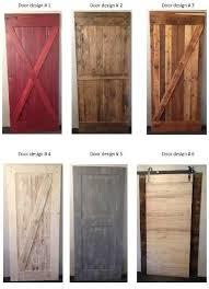 Barn Door Designs New Barn Wood Door Designs From Prairie Barnwood For The Home
