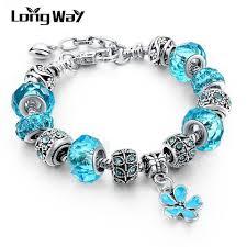 pandora bracelet styles images Silver charm bracelets for women with crystal pandora style jpg