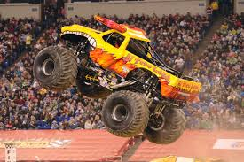 nitro circus monster truck backflip interview with becky mcdonough monster jam crew chief and driver