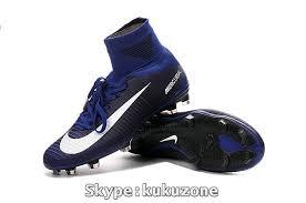 s soccer boots australia 2017 cheap nike mercurial superfly v fg soccer cleats dk blue white