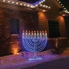outdoor hanukkah menorah 24 lighted chenille with dreidel outdoor hanukkah yard