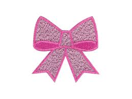 emoji ribbon ribbon bow emoji embroidered iron on patch applique free