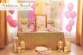 sweet booths all characters welcome kara s party ideas glittery unicorn welcome baby party kara s