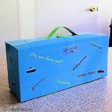 Build A Toy Box by How To Make A Suitcase Using Duct Tape