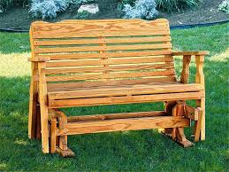 best outdoor glider bench design ideas for elegance and comfort