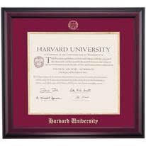 harvard diploma frame harvard graduation diploma frames by college ocm