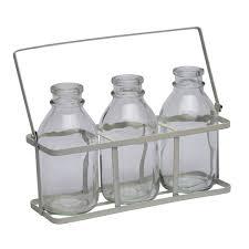 Mini Bud Vases Vintage Style Mini Glass Vase Bottles Amazon Co Uk Kitchen U0026 Home