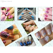 wholesale nail art kit nail stamp scraper knife image paint plate