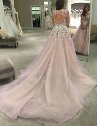 wedding and prom dresses buy gorgeous a line scoop wedding dress dress with appliques