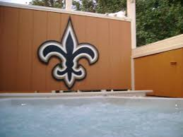 new orleans saints yard sign yard art and signs made to order