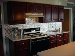 Kitchen Tin Backsplash Tin Backsplash Ideas Kitchen U Shape Kitchen Decoration Using