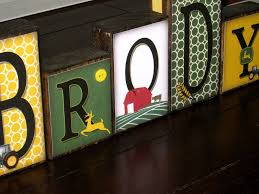 john deere baby room decorations personalized little boy name